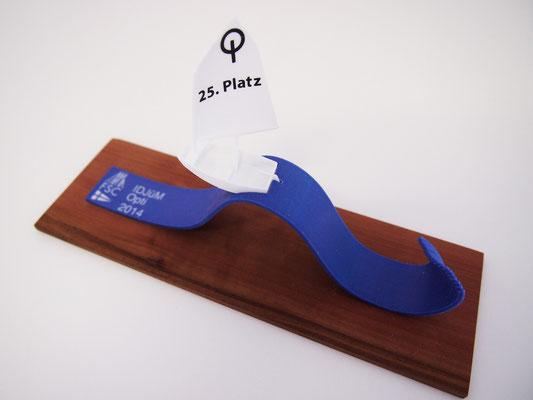 IDJüM Optimist 2014: 3D Druck Opti auf Welle