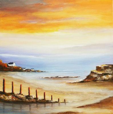 Bretagne, acrylique sur toile