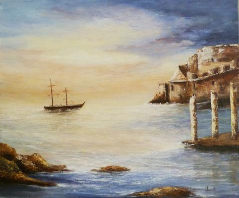 Acrylique sur toile <46x55>
