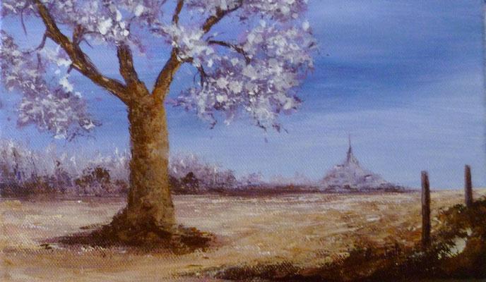 Acrylique sur toile  14x24