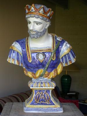 Buste Marc-Antoine après restauration