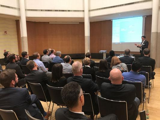 Lutz Morlock präsentiert das Value Driver Tree Tool für SAP Design Studio und Lumira.