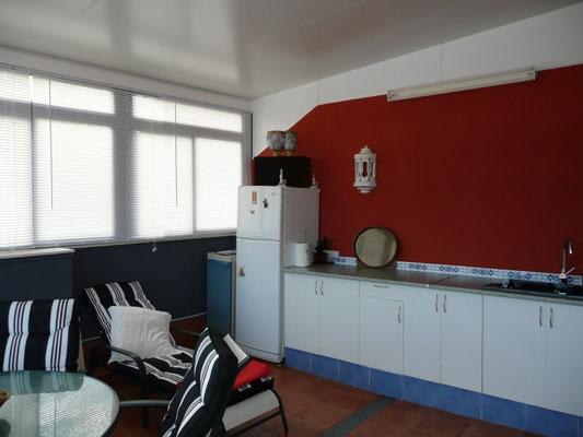 Vista de la cocina instalada.