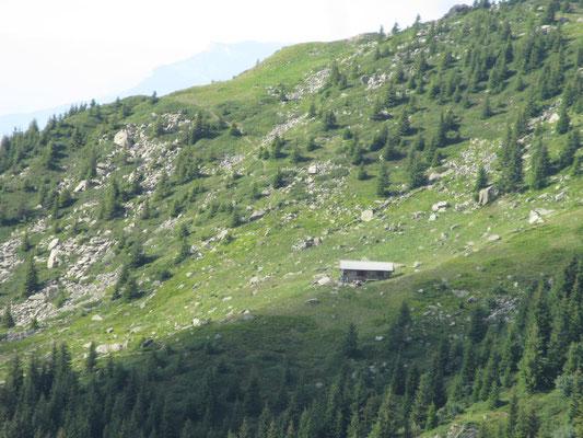 Vue de la Fouetterie de la Grande Valloire