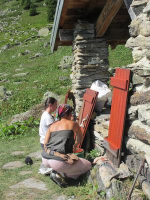 Les volets entament leur 2e vie avec la peinture suédoise