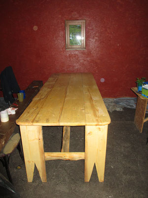 La nouvelle table
