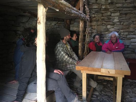 Inauguration des bas-flancs et de la table
