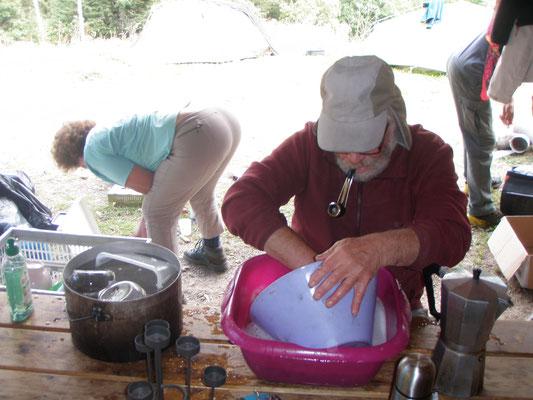 Robert à la vaisselle