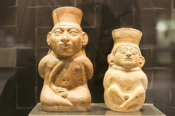 Töpferfiguren der Moche Kultur