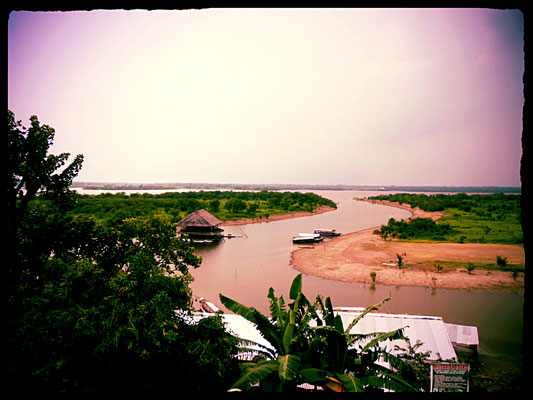 Das Meer bieten viele Städte von ihrer Uferpromenade, nicht aber den Amazonas sowie Iquitos