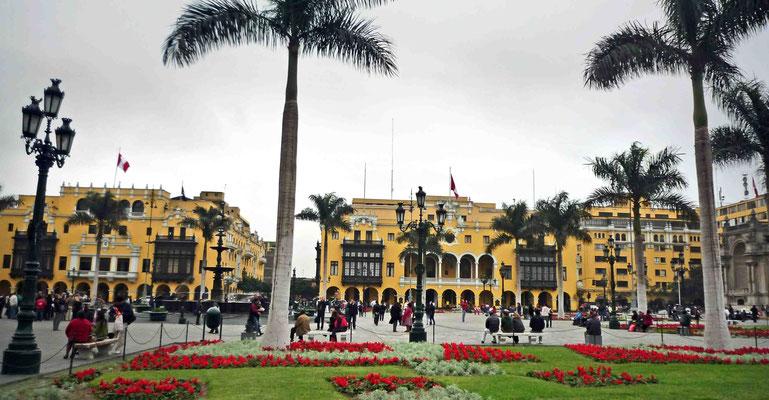 Limas kolonialer Hauptplatz