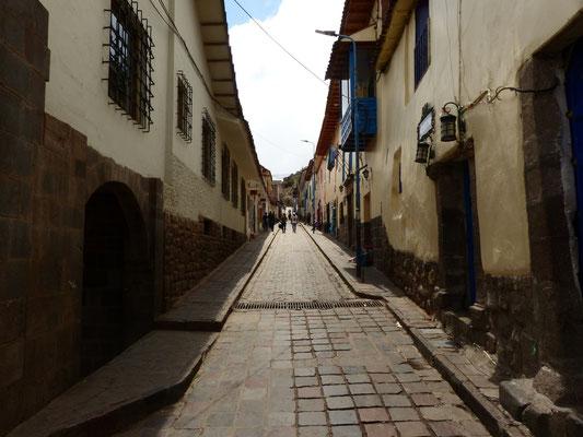 Diese schnucklige Seitenstraße geht vom Plaza de Armas weg