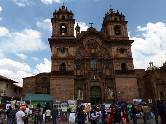 Iglesia de San Sebastian auf der Plaza de Armas, dem Haupt- und Zentralplatz Cuzcos