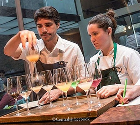 "Virgilio Martinez in seinem Restaurant ""Central"" in Lima"