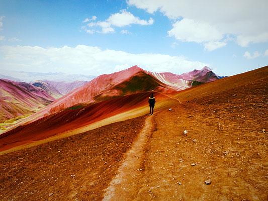 In das Rote Tal oder Valle Rojo de Pitumarca