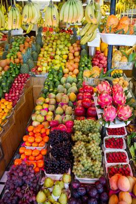 bunt und süß ist Perus Früchte-Vielfalt
