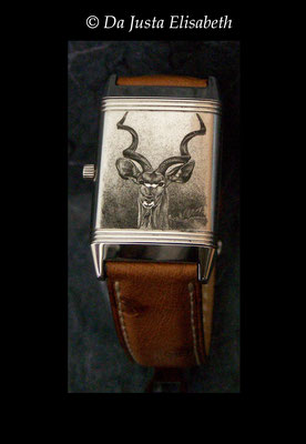 Koudou sur montre jaeger lecoultre- reverso