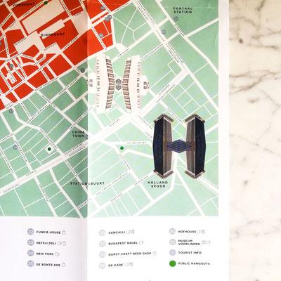 Beeldiconen voor cityguide concept Day Hague