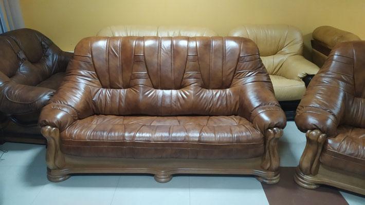 Шкіряний диван Mercedes