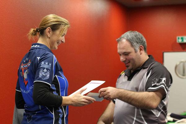 1. Platz Vereinsmeisterschaft Damen: Antje Materne