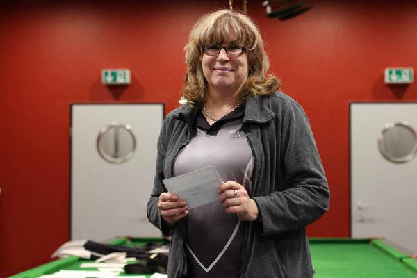 2. Platz Vereinsmeisterschaft Damen: Elke Gräwe