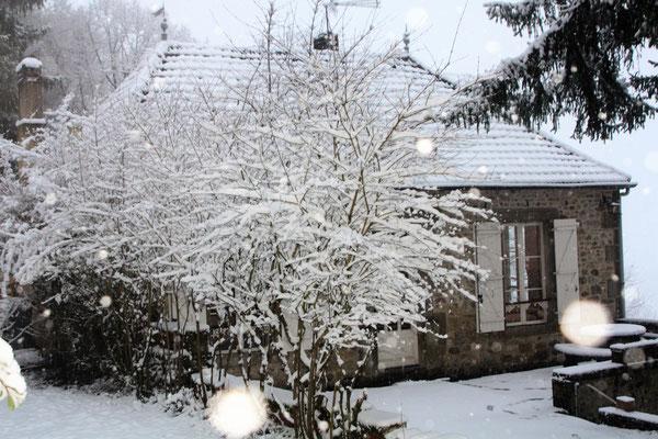 la Pébrunelle en hiver