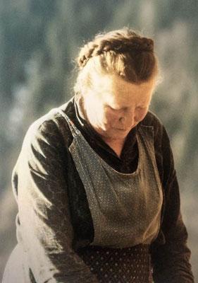 Unsere Großtante, die Karling Christl