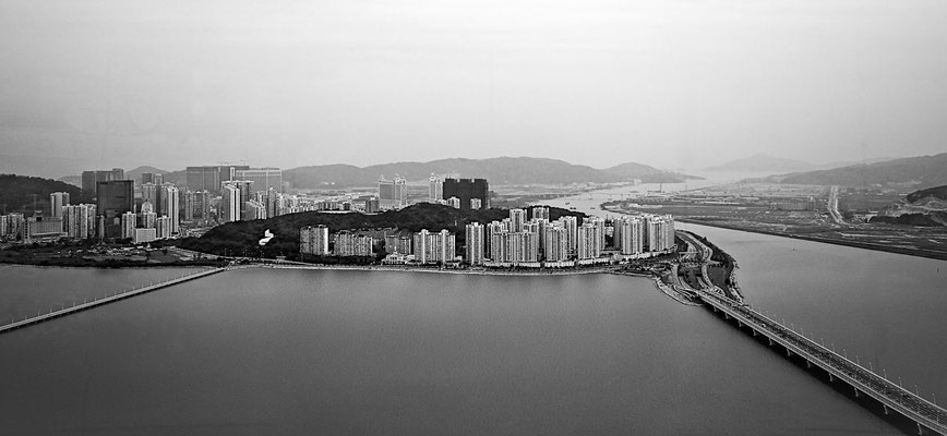 Picture of Macau from the tower