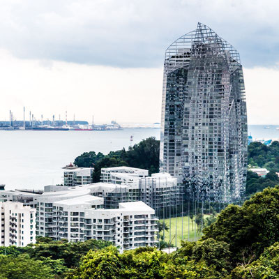 Photo of New building in Singapore