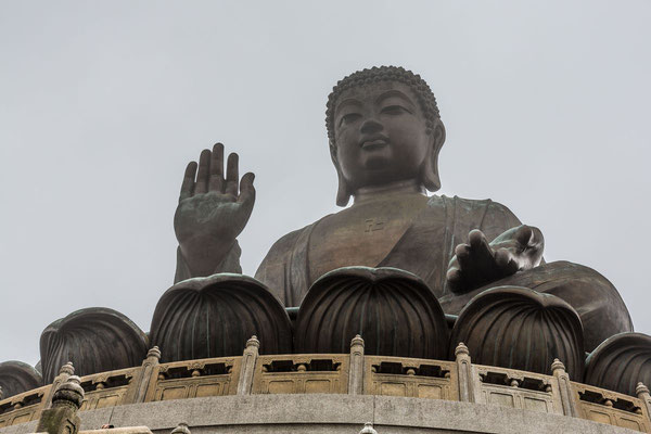 Big architectural Buddha