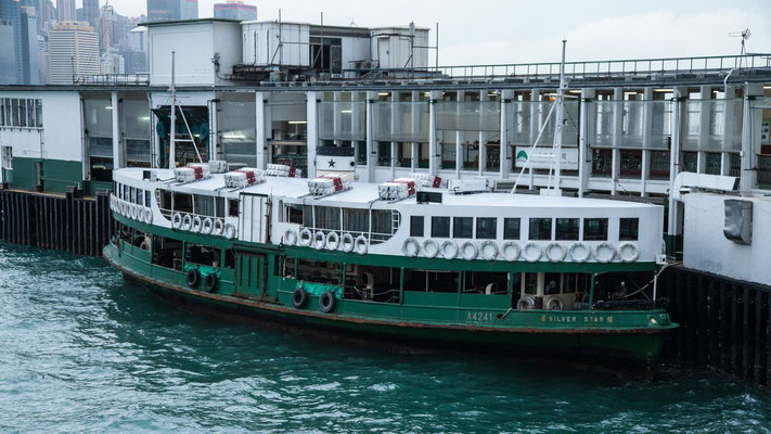 Photo of the Silver star ferry boat at the pier