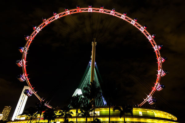 Photo of the Flyer big wheel in Singapore