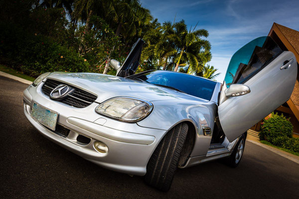 Coupe Mercedes Photo with lambo doors