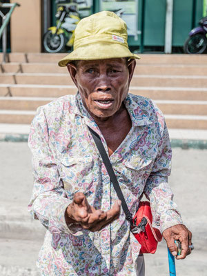 Picture of a street beggar