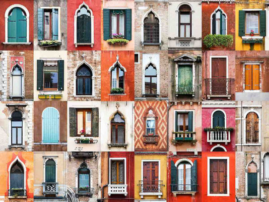 Windows of the world : Venice