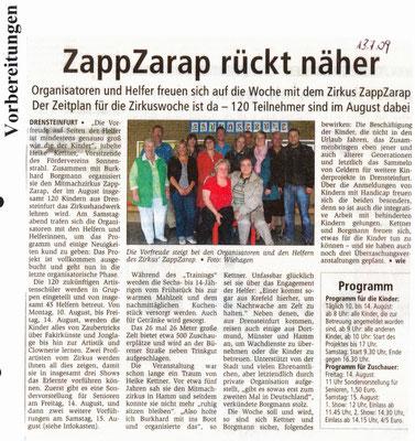 Zirkus ZappZarap 2009