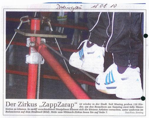 Zirkus ZappZarap 2010