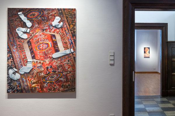 Cornelius Völker und Meisterschüler, 6.11._11.12. 2016, Galerie Eichenmüllerhaus Lemgo