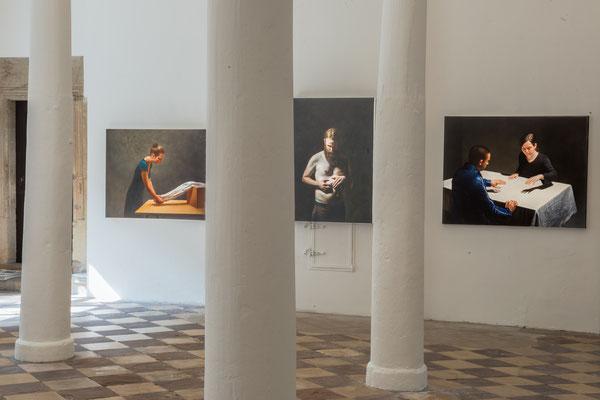 Hans Aichinger, 6.4._11.5. 2014, Schloss Detmold