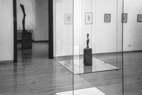 Alberto Giacomettii, 29.11. 1998, Eichenmüllerhaus Lemgo