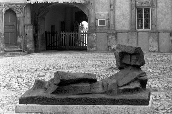Fritz Wotruba. 19.7._6.9. 1981, Schloss Detmold