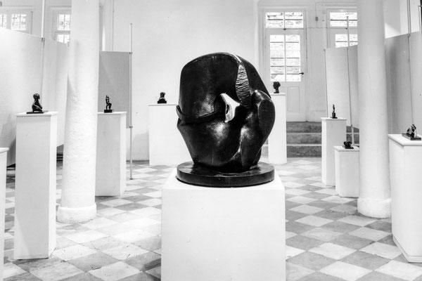 Henry Moore, 10.7._4.9. 1977, Schloss Detmold