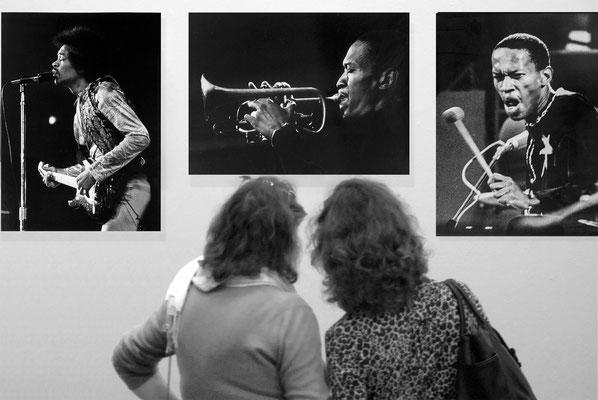 Jazz-Legenden fotografiert von Uwe Rau, 10.6_13.8 2005, Hochschule für Musik Detmold