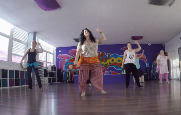 Bollywood-Workshop Februar 2017