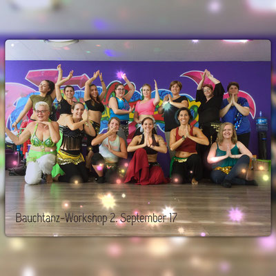 Bauchtanz-Workshop September 2017