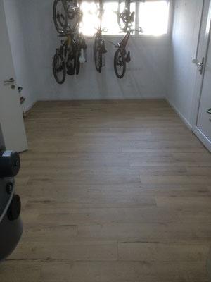 Vinylboden Eiche Veloraum und Waschküche