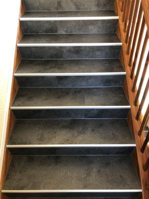 Treppenhaus Umbau Wände, Decken, Boden und Treppen