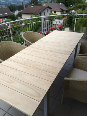 Gartentisch Holz Accoya