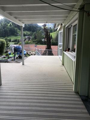 Terrassenboden WPC grau