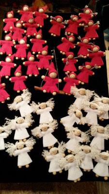 kleine Wichtel und Weihnachtsengel
